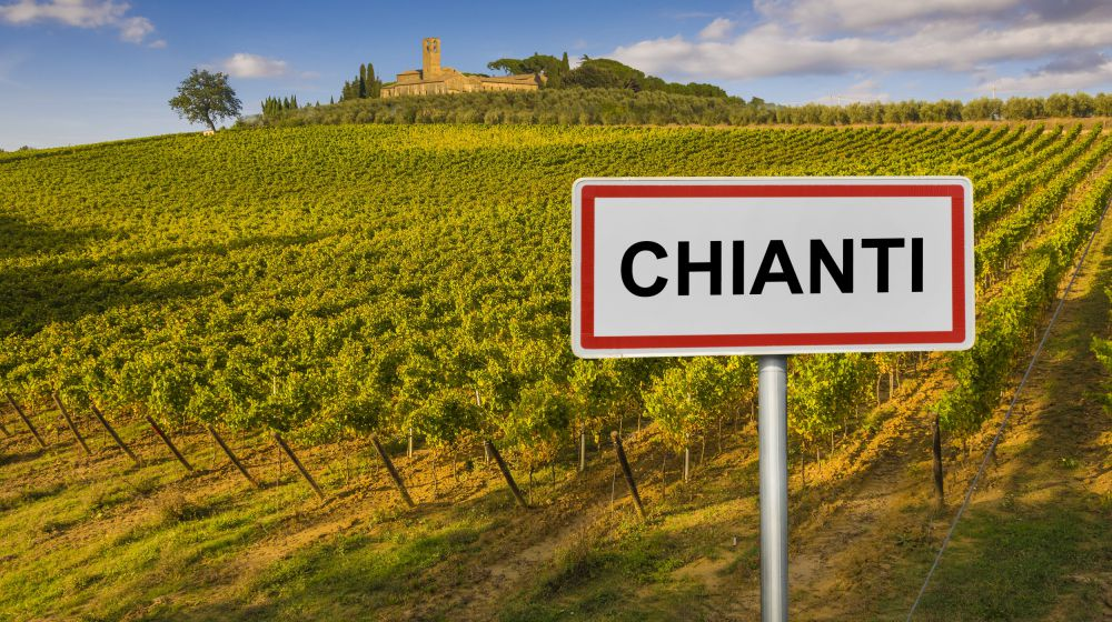 THE CHIANTI REGION - 40km - Land of prestigious wines